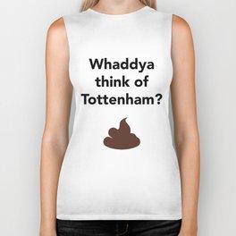 Whaddya think of tottenham? Biker Tank