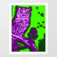 My Eyes Are Up Here #2 Art Print