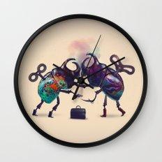 Fight Wall Clock