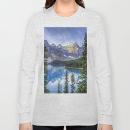 Moraine Lake #landscape #photography Long Sleeve T-shirt