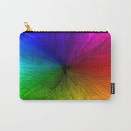 Rainbow Vortex Carry-All Pouch