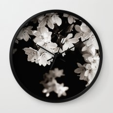 Little Whites ~ No.1 Wall Clock