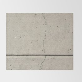 Real, Concrete, not Abstract Throw Blanket