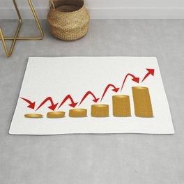 Rising Money Steps Rug