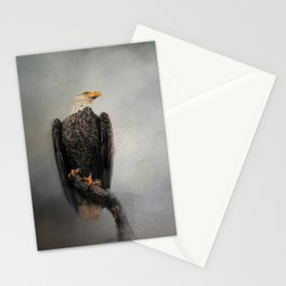 High Perch - Bald Eagle - Wildlife Stationery Cards