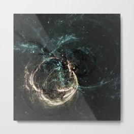 fractal world 25 Metal Print
