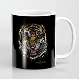 Tiger Face (Signature Design) Coffee Mug