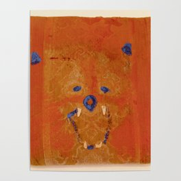 Lions Roar on Seat Cushion Poster