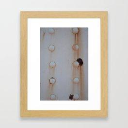 Rivited Framed Art Print