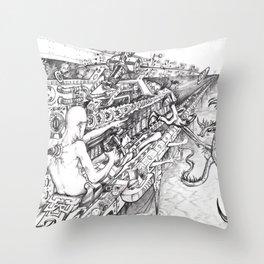 Mindtrigger Throw Pillow