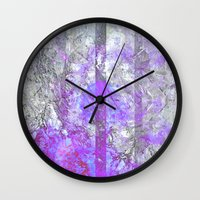 vagina Wall Clocks featuring Old Soul by Aaron Carberry