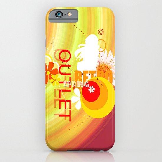 Retro Spring iPhone & iPod Case