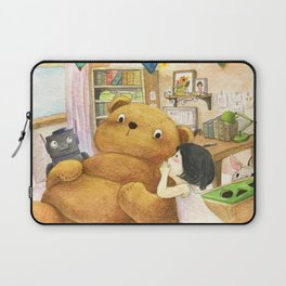 Secret | Children's illustration Laptop Sleeve