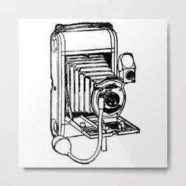 Camera. Metal Print