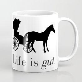 Life is gut Coffee Mug
