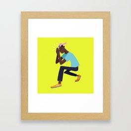 Stay Blessed Framed Art Print