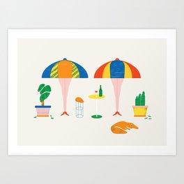 SIESTA Art Print