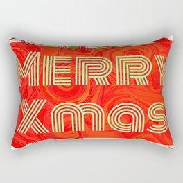 Merry Xmas 3 Rectangular Pillow