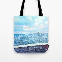 Sea Salt Spray Tote Bag