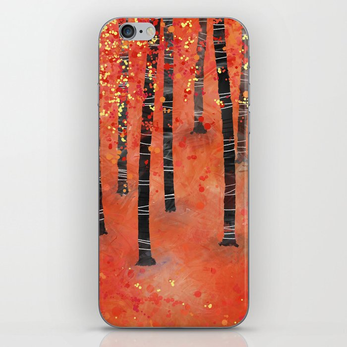 Birches iPhone Skin