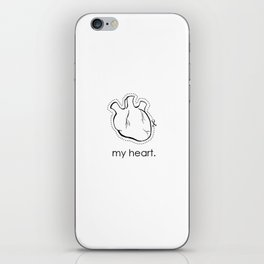 my heart. iPhone Skin