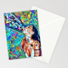 Tribal Shout Stationery Cards