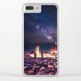 florence skyline Clear iPhone Case