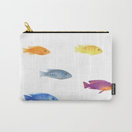 cichlids fish malawi lake Carry-All Pouch