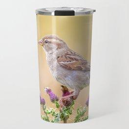 Female Sparrow Travel Mug
