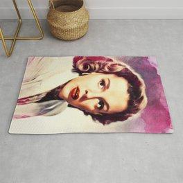 Judy Garland, Hollywood Legend Rug