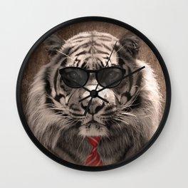 Cool cat Wall Clock