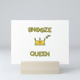 Snooze King Mini Art Print