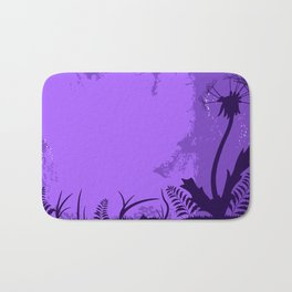 Night dandelion Bath Mat