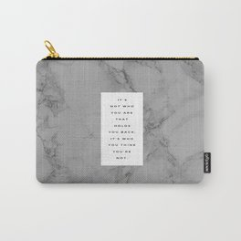 MARBLE QUOTE Carry-All Pouch