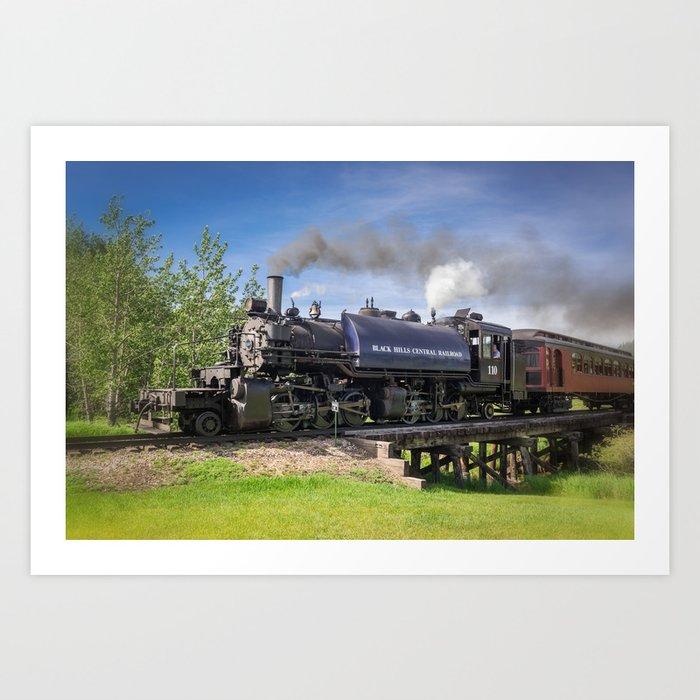 Full Steam Ahead Kunstdrucke
