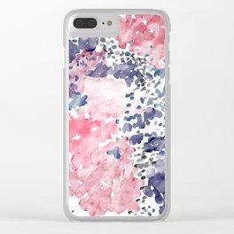 Splotch Clear iPhone Case