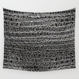 Silver Chain Maille Wall Tapestry