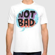 Not bad. Mens Fitted Tee White MEDIUM
