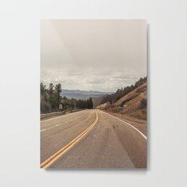 The Longest Road Metal Print