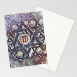 Chai Merkabah Stationery Cards