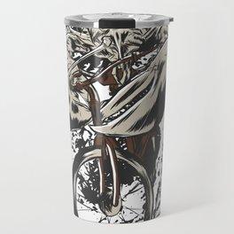 Bycicle Lobster Travel Mug