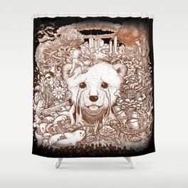 Winya No.17 Shower Curtain