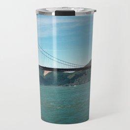 Golden Gate Bridge Daytime Travel Mug