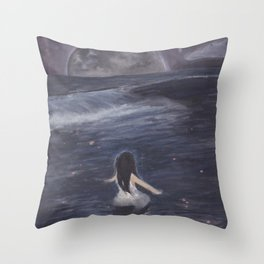 Abyss Serenity Throw Pillow