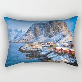 Lofoten Islands, Norway Rectangular Pillow