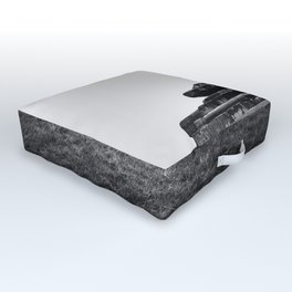 Historic German bunker  of World War II Outdoor Floor Cushion