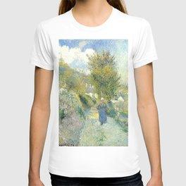 """Camille Pissarro """"Chemin de Pontoise, Auvers-sur-Oise"""" T-shirt"""