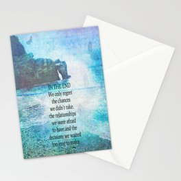 Lewis Carroll Alice in Wonderland quote Stationery Cards