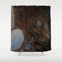 imagerybydianna Shower Curtains featuring place to rest by Imagery by dianna