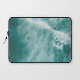 Surfer Surfing Bondi Beach Laptop Sleeve